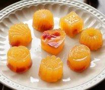 自制Q滑橘子果凍,很好吃哦